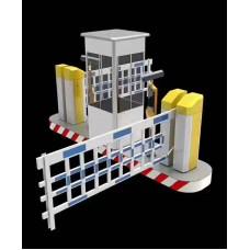 Barrier tự động khu công nghiệp YF - 880